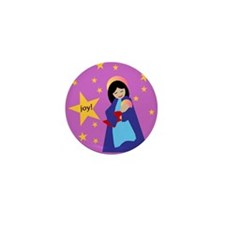 Mary & Jesus Mini Button (10 pack)