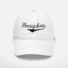 Braydon Vintage (Black) Baseball Baseball Cap