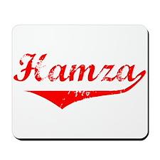 Hamza Vintage (Red) Mousepad