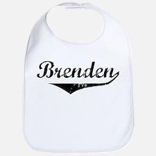 Brenden Vintage (Black) Bib