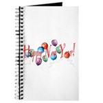 New Year Balloons Journal