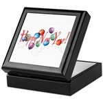 New Year Balloons Keepsake Box