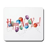 New Year Balloons Mousepad