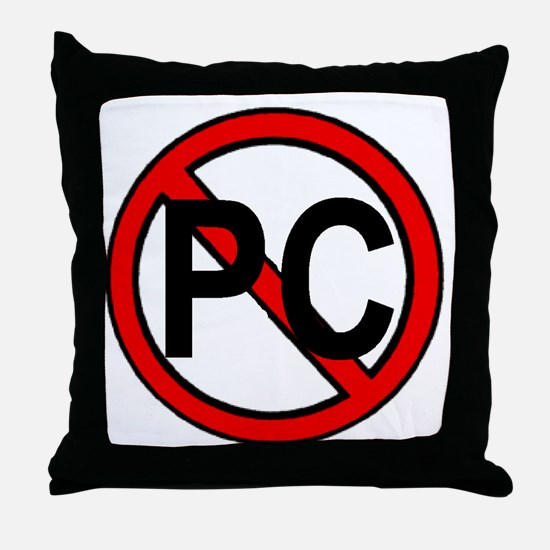NO PC Throw Pillow