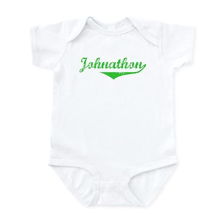 Johnathon Vintage (Green) Infant Bodysuit