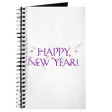 New Year Confetti Journal