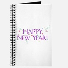New Year Confetti Journal