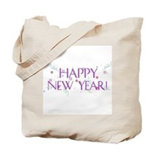 New Year Confetti Tote Bag