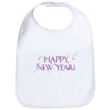 New Year Confetti Bib