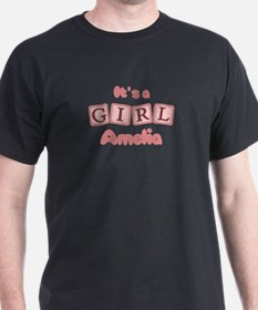It's A Girl - Amelia T-Shirt