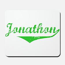 Jonathon Vintage (Green) Mousepad