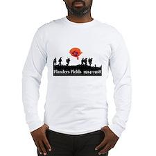 Flanders Fields 1914-1918 Long Sleeve T-Shirt