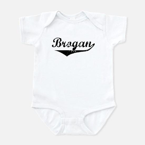 Brogan Vintage (Black) Infant Bodysuit