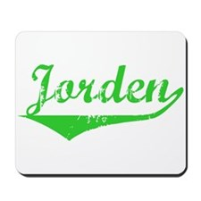 Jorden Vintage (Green) Mousepad