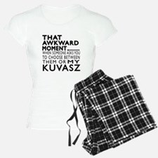 Awkward Kuvasz Dog Designs Pajamas