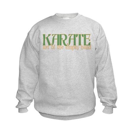 Karate Art of the Empty Hand Kids Sweatshirt