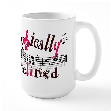 Musically Inclined Large Mug