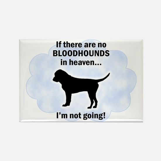Bloodhounds In Heaven Rectangle Magnet