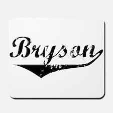 Bryson Vintage (Black) Mousepad