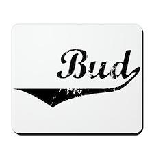 Bud Vintage (Black) Mousepad