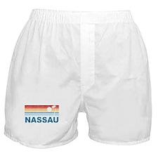 Retro Nassau Palm Tree Boxer Shorts