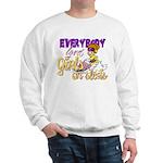 Girls on Sleds Sweatshirt