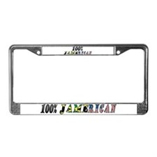 Jamerican License Plate Frame