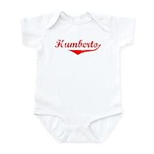 Humberto Vintage (Red) Infant Bodysuit