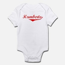 Humberto Vintage (Red) Infant Bodysuit