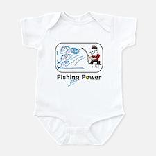 Fishing Power Infant Creeper