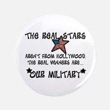 "Military Stars 3.5"" Button (100 pack)"