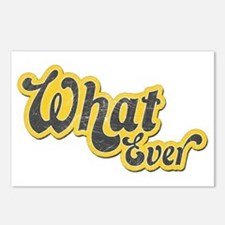 Sarcastic What Ever Postcards (Package of 8)