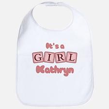 It's A Girl - Kathryn Bib