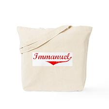 Immanuel Vintage (Red) Tote Bag