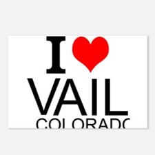 I Love Vail, Colorado Postcards (Package of 8)