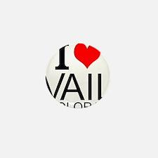 I Love Vail, Colorado Mini Button