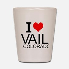 I Love Vail, Colorado Shot Glass