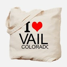 I Love Vail, Colorado Tote Bag