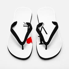 I Love Vail, Colorado Flip Flops