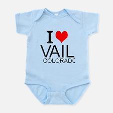 I Love Vail, Colorado Body Suit