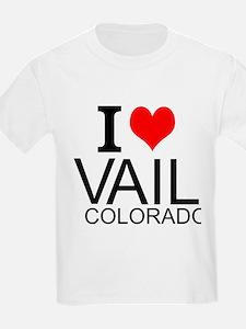 I Love Vail, Colorado T-Shirt