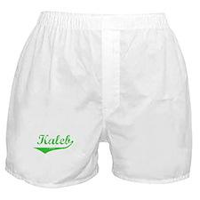 Kaleb Vintage (Green) Boxer Shorts