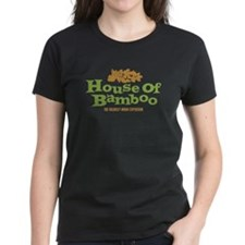 House of Bamboo Women's black or baby blue T-Shirt