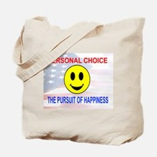 Pursuit of Happines Tote Bag