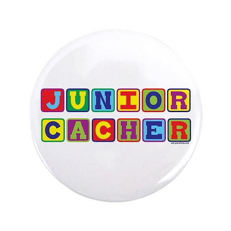"""Junior Cacher 3.5"""" Button"""