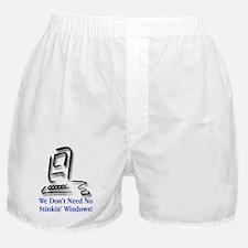 No Stinkin' Windows! Boxer Shorts