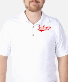 Jabari Vintage (Red) Golf Shirt