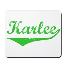 Karlee Vintage (Green) Mousepad