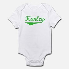 Karlee Vintage (Green) Infant Bodysuit