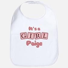 It's A Girl - Paige Bib
